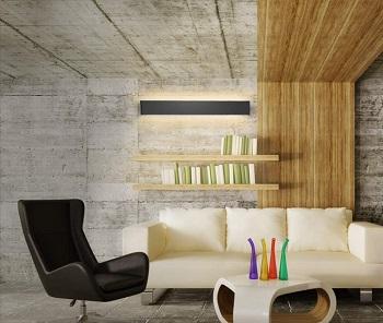 Aipsun Black Modern Wall Light
