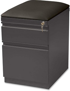 BEST 2-DRAWER CUSHION TOP FILE CABINET