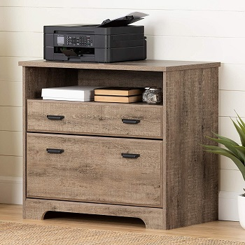 BEST 2-DRAWER FARMHOUSE STYLE FILING CABINET