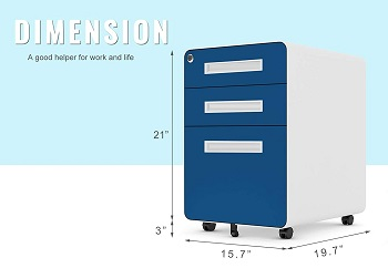 BEST 3-DRAWER CHEAP FILING CABINET WITH LOCK