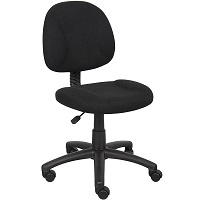BEST ARMLESS AFFORDABLE HOME OFFICE CHAIR Summary