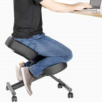 BEST ARMLESS AFFORDABLE OFFICE CHAIR FOR BACK PAIN
