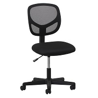 BEST ARMLESS BEST OFFICE CHAIR FOR LOWER BACK PAIN UNDER $300 Summary
