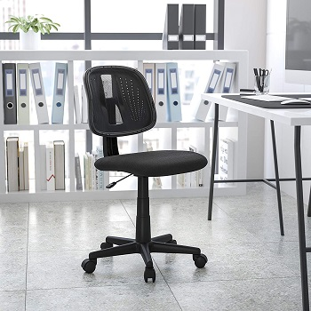 BEST ARMLESS HOME OFFICE CHAIR FOR BACK PAIN