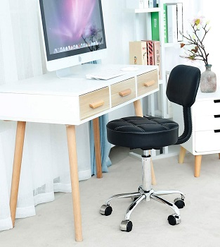 BEST ARMLESS OFFICE CHAIR FOR TALL PERSON WITH BACK PAIN