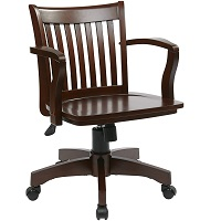 BEST CHEAP WOODEN BANKERS DESK CHAIR Summary