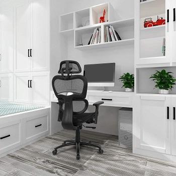 BEST ERGONOMIC HIGH-BACK OFFICE CHAIR WITH HEADREST