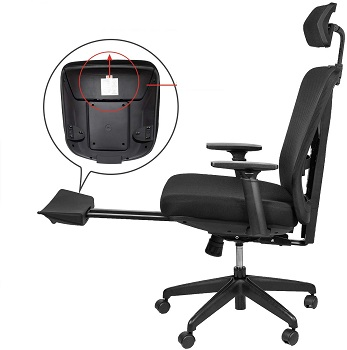 BEST FOR STUDY HIGH-BACK RECLINER OFFICE CHAIR