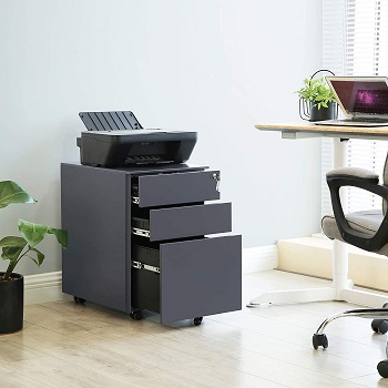 BEST GREY COLORFUL FILE CABINET