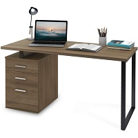 BEST HOME OFFICE COMPUTER DESK WITH FILE CABINET picks