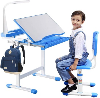 BEST KIDS SMALL DESK AND CHAIR FOR BEDROOM