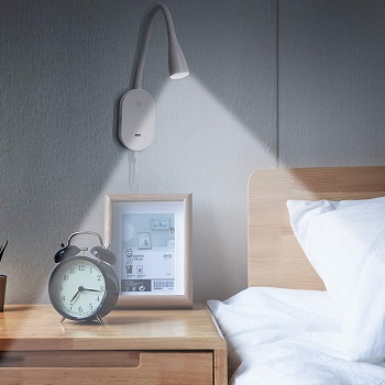 BEST LED FLEXIBLE BEDSIDE READING LAMP