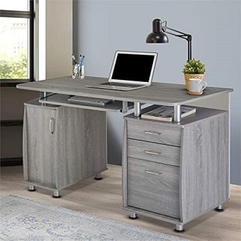 BEST OF BEST COMPUTER DESK WITH FILE CABINET