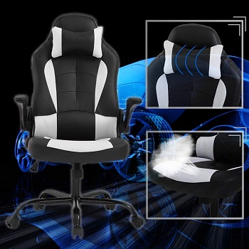 BEST OF BEST HIGH-BACK OFFICE CHAIR WITH LUMBAR SUPPORT