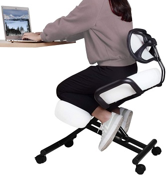 BEST OF BEST KNEELING CHAIR WITH BACK SUPPORT