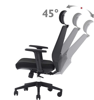 BEST OFFICE CHAIR FOR THORACIC BACK PAIN AND UPPER BACK PAIN