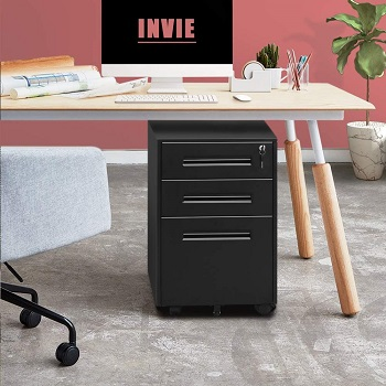 BEST ON WHEELS CHEAP FILING CABINET WITH LOCK