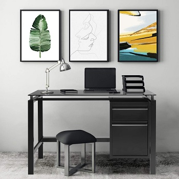 BEST SMALL COMPUTER DESK WITH FILING DRAWER