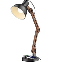 BEST SWING ARM LED DESK LAMP WITH WIRELESS CHARGING Picks