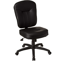BEST TALL ERGONOMIC TASK CHAIR NO ARMS Summary