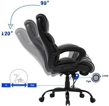 BEST TALL OFFICE CHAIR FOR LOWER BACK PAIN UNDER $300