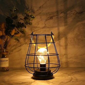 BEST VINTAGE CORDLESS LED TABLE LAMP