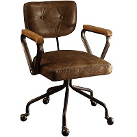 BEST VINTAGE LEATHER BANKERS CHAIR ANTIQUE Summary