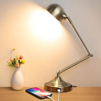 BEST VINTAGE LED DESK LAMP WITH USB PORT