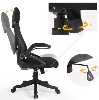 BEST WITH ARMRESTS HIGH BACK CHAIR