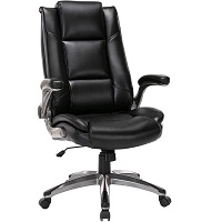 BEST WITH ARMRESTS HIGH BACK OFFICE CHAIR WITH ADJUSTABLE ARMS Summary