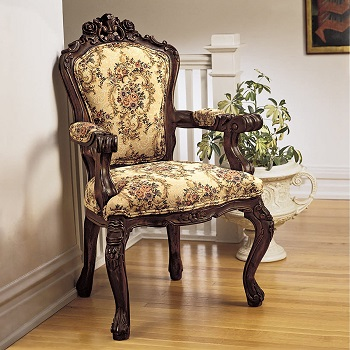 BEST WITH ARMRESTS VICTORIAN OFFICE CHAIR
