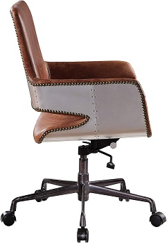 BEST WITH ARMRESTS VINTAGE BANKERS CHAIR
