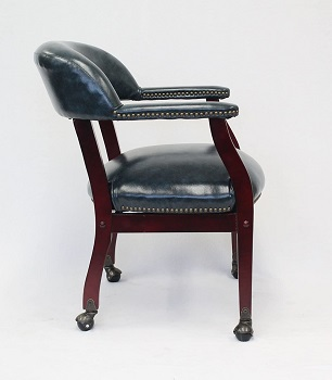 BEST WITH ARMRESTS WOOD BANKERS CHAIR