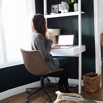 BEST WITH BACK SUPPORT ERGONOMIC TASK CHAIR NO ARMS
