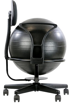 BEST WITH BACK SUPPORT EXERCISE BALL FOR DESK
