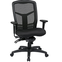 BEST WITH BACK SUPPORT HIGH BACK BLACK CHAIR Summary