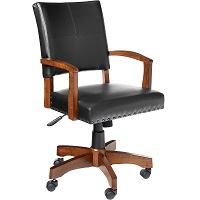 BEST WITH BACK SUPPORT WOOD BANKERS CHAIR Summary