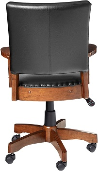 BEST WITH BACK SUPPORT WOOD BANKERS CHAIR