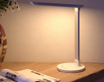BEST WITH TOUCH CONTROL DIMMABLE LED DESK LAMP