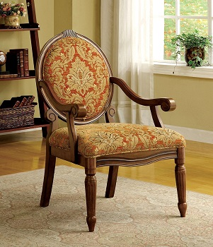 BEST WITHOUT WHEELS VICTORIAN DESK CHAIR