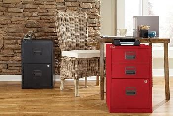 Bisley 3-drawer File Cabinet