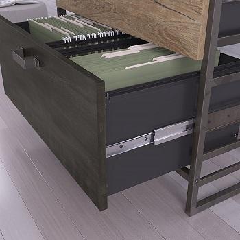 Bush Furniture Refinery File Cabinet