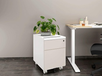 CuHome 2-drawer Mobile File Cabinet