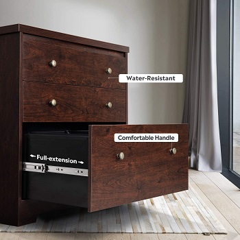 DEVAISE Lateral File Cabinet, 3