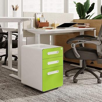 Devaise 3-drawer File Cabinet