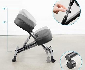 Dragonn DN-CH-K01B Kneeling Chair