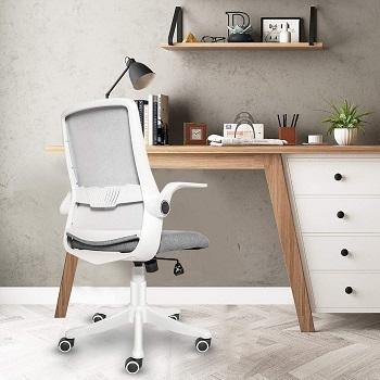 Elecwish Fabric Swivel Home Chair