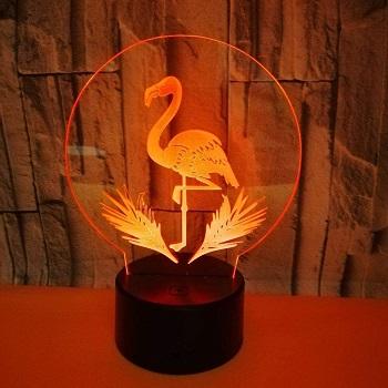 Flamingo Acrylic 3D Night Light
