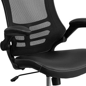 Flash Furniture BL-X-5M-LEA Ballance Ball Chair