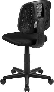 Flash Furniture LF-134-BK-GG Mesh Office